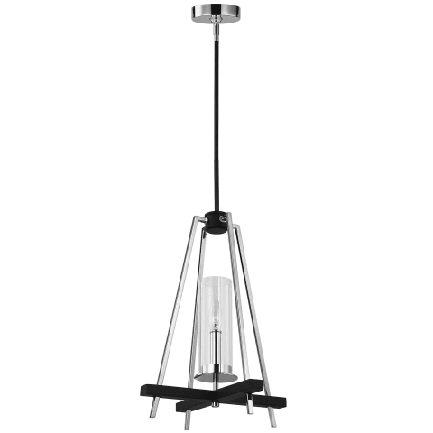 Broderick 1 - Light Pendant Textured Black