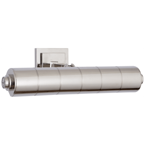 "Montgomery 16"" Picture Light in Polished Nickel"