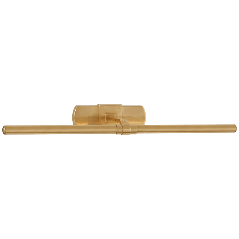 "Langley 24"" Picture Light in Natural Brass"