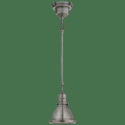 Fulton Mini Pendant in Industrial Steel