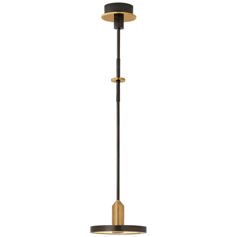 Valen Small Pendant in Bronze and Brass