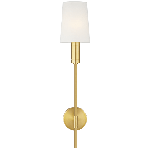 Beckham Modern Sconce Burnished Brass