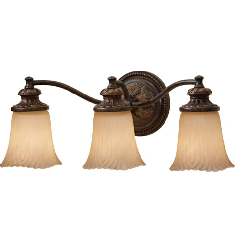 Emma 3-Light Vanity Strip Grecian Bronze