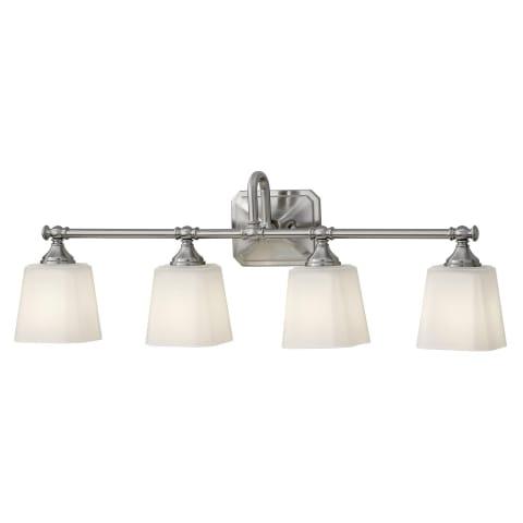 Concord 4-Light Vanity Brushed Steel