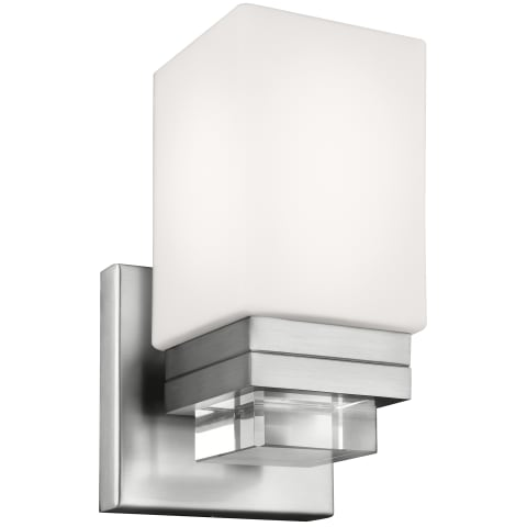 Maddison 1 - Light Sconce Satin Nickel