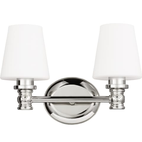 Xavierre 2 - Light Vanity Polished Nickel