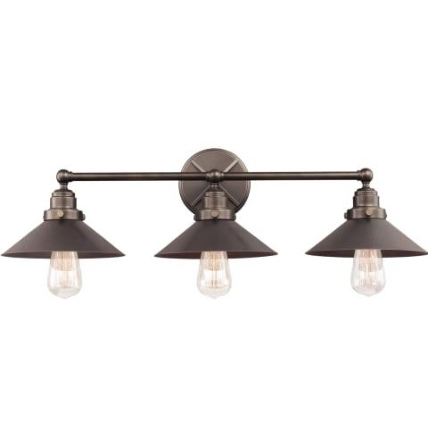 Hooper 3 - Light Vanity Antique Bronze