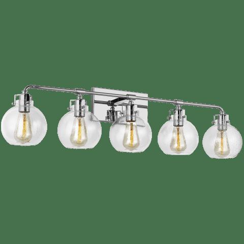 Clara 5 - Light Vanity Chrome