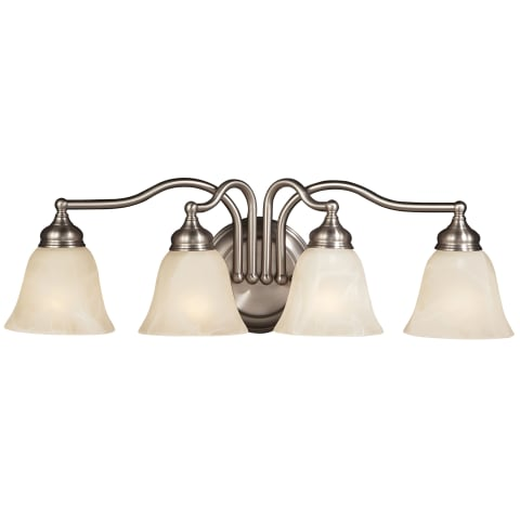 Bristol 4 - Light Vanity Fixture Pewter