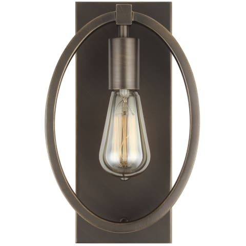 Marlena 1 - Light Wall Sconce Antique Bronze