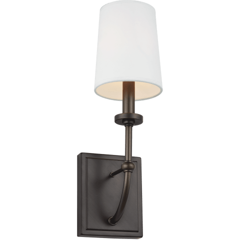Stowe 1 - Light Wall Sconce Antique Bronze