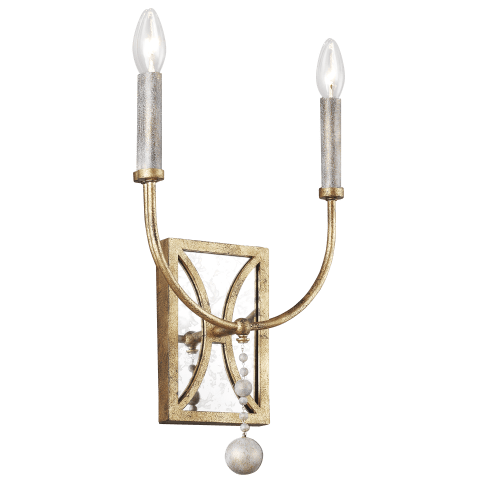 Marielle 2 - Light Wall Sconce Antique Gild
