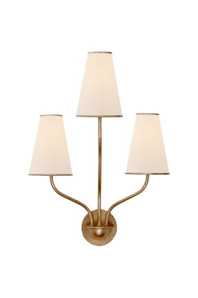 Montreuil Small Wall Sconce Designer Aerin Circa Lighting
