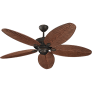 "52"" Cruise Outdoor Fan - (Wet Rated)  Roman Bronze"
