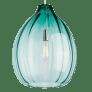 Harper Pendant Surf Green satin nickel no lamp