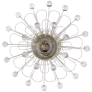 Keaton Wire Floral Sconce in Light Cream