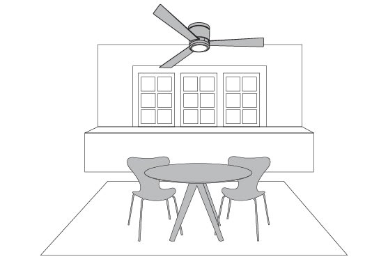 Ceiling Fan Tips - 8' Ceilings