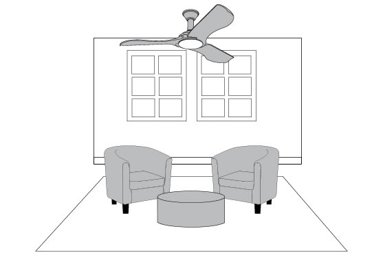 Ceiling Fan Tips - 9' Ceilings