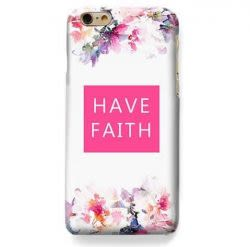 Funda Case Love Faith iPhone SE / 5 / 5S - Blanco