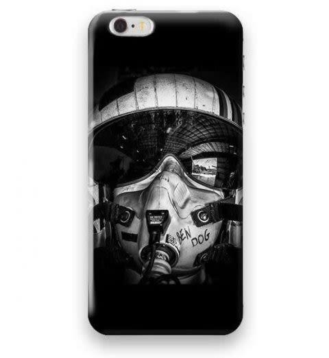 Funda Case Love Piloto iPhone SE / 5 / 5S - Negro