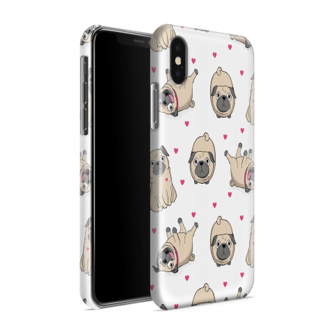 Funda Case Trendy Lovely Pugs 833 - Multicolor
