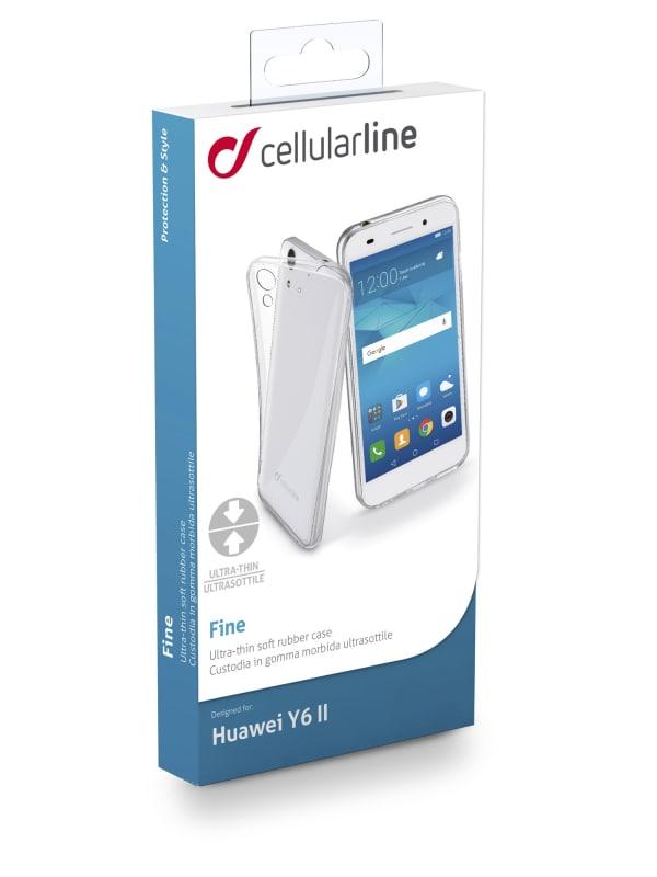 Cellularline FINECY6IIT 5.5'' Hoes Transparant mobiele telefoon behuizingen