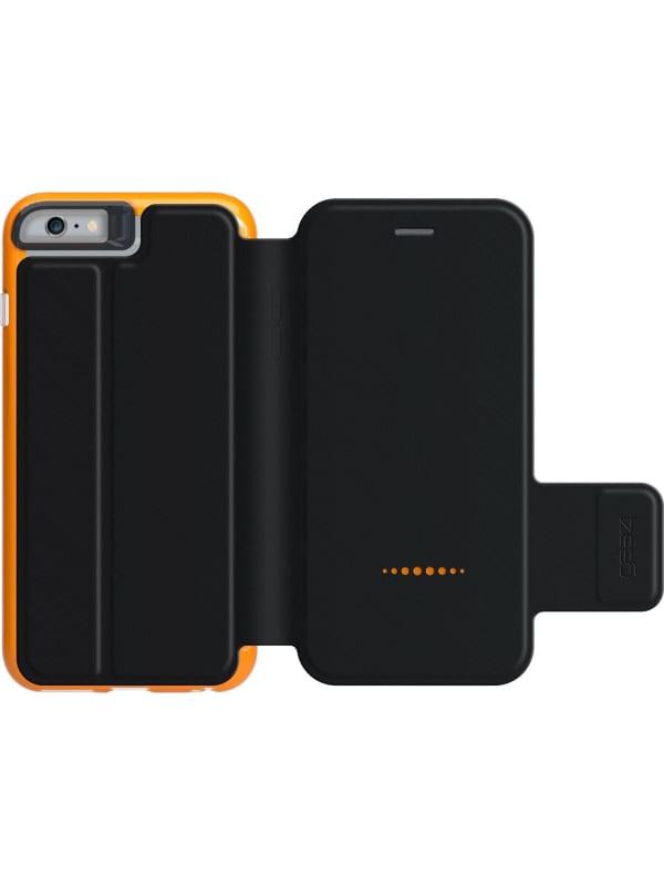 GEAR4 Black Bookcase - Apple iPhone 6 Plus/6s Plus Hoesje - Zwart