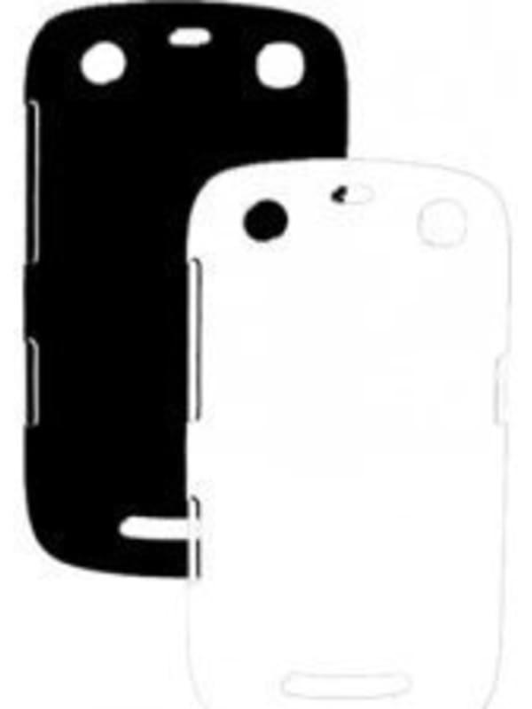 Globo'comm Premium Duopack Covers voor de Blackberry Curve 9350, 9360 en 9370 - Zwart / Wit