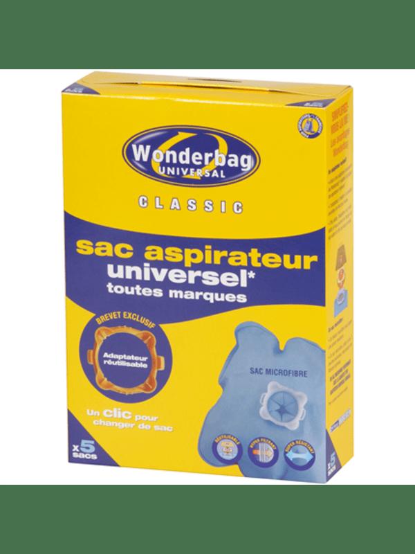 Wonderbag Classic 5 universele stofzuigerzakken