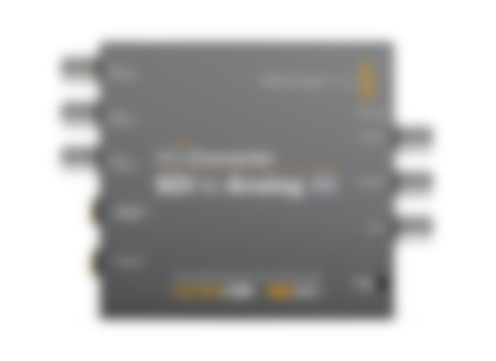 Blackmagic Design Mini Converter – SDI to Analog 4K