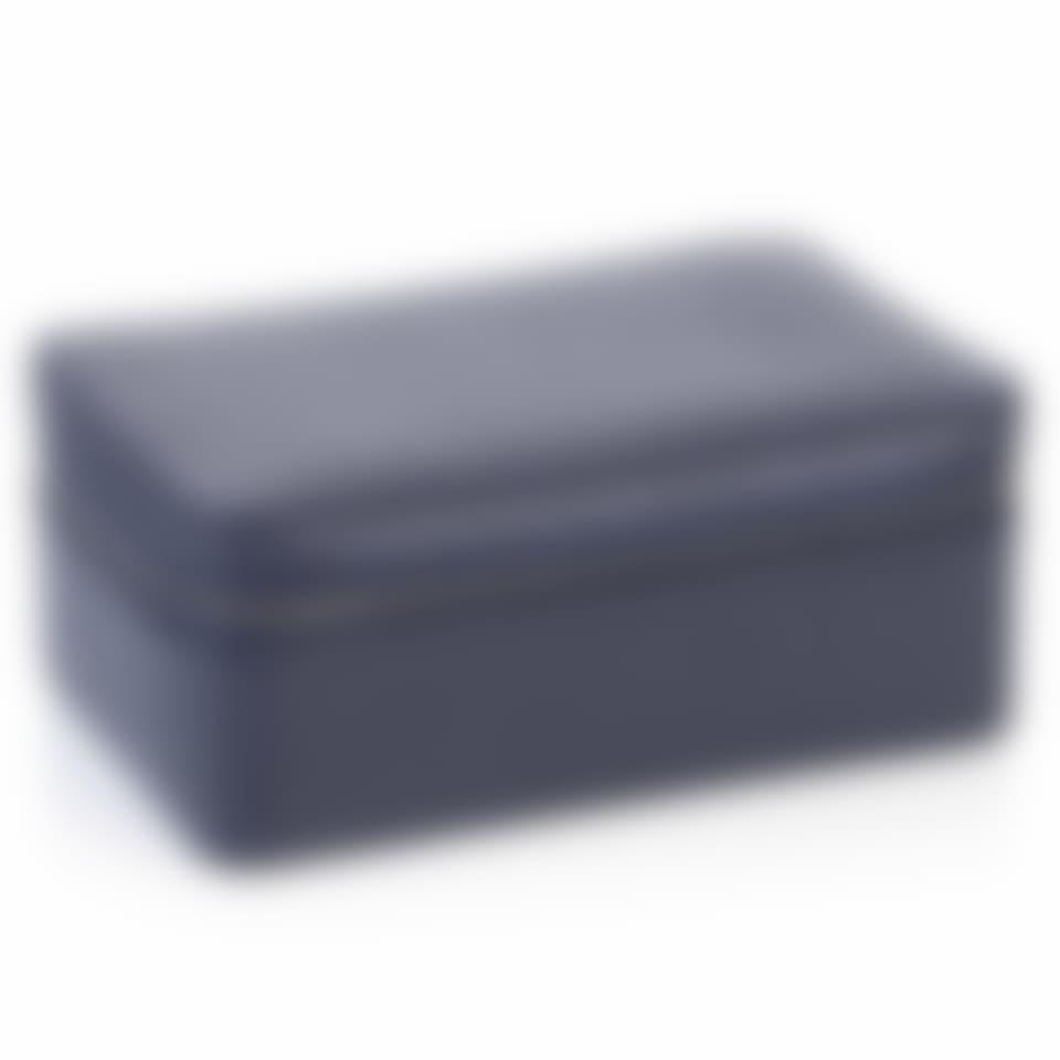 Richmond leather large trinket box