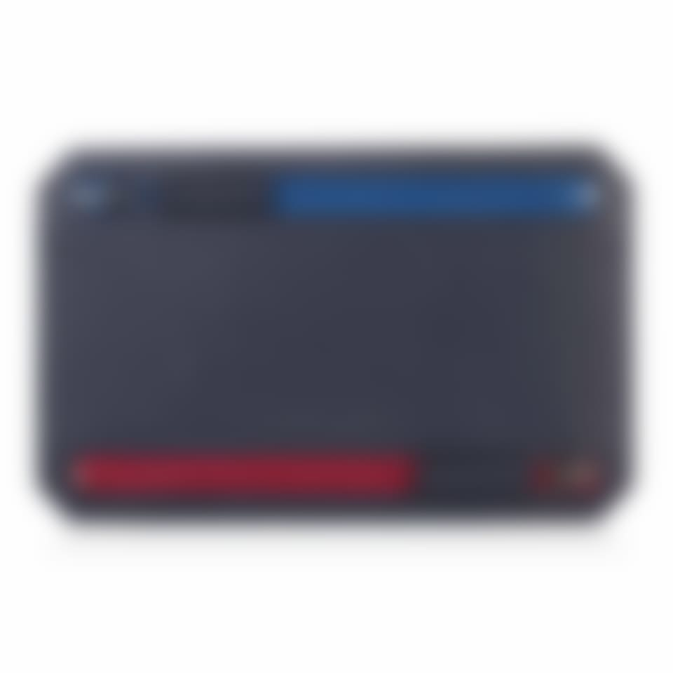Richmond leather multi currency wallet