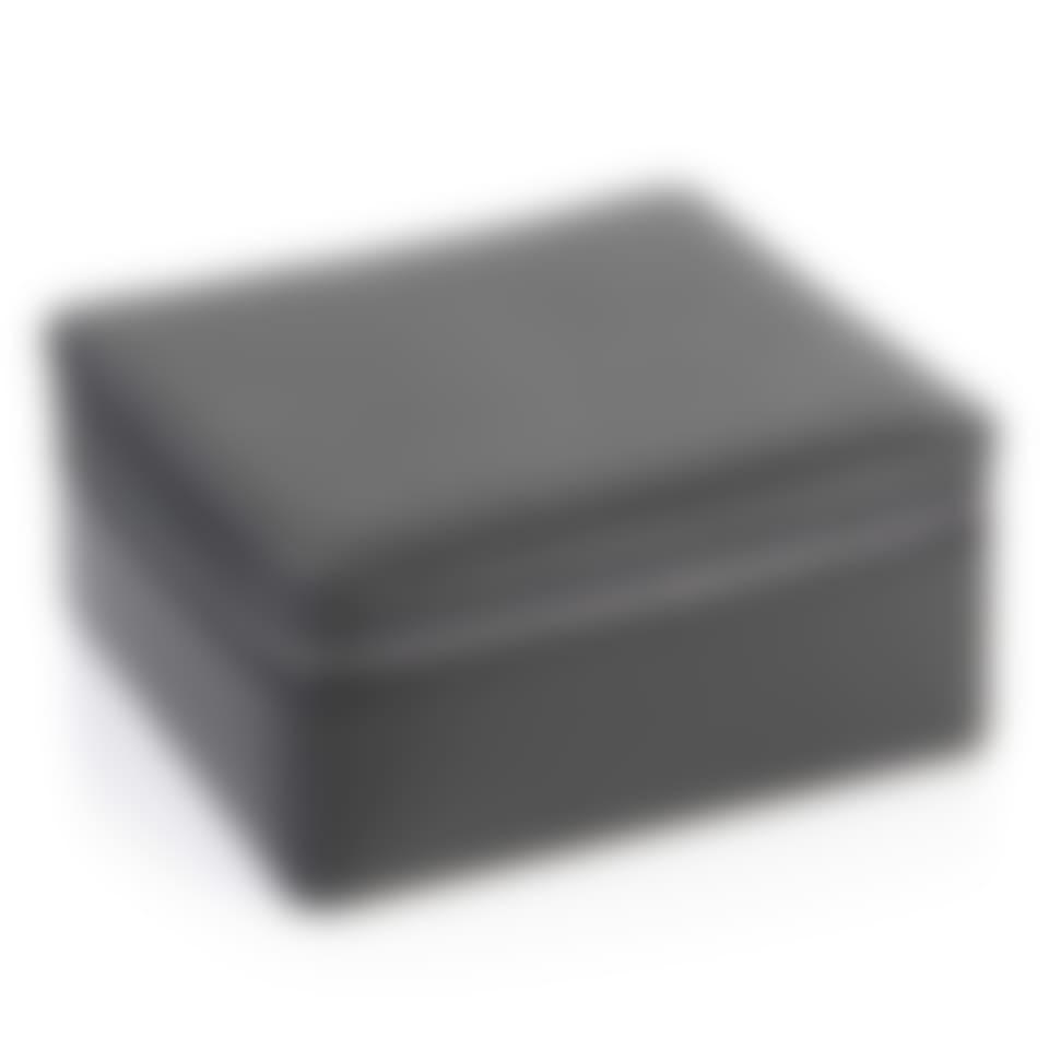 Richmond leather zip around jewellery box