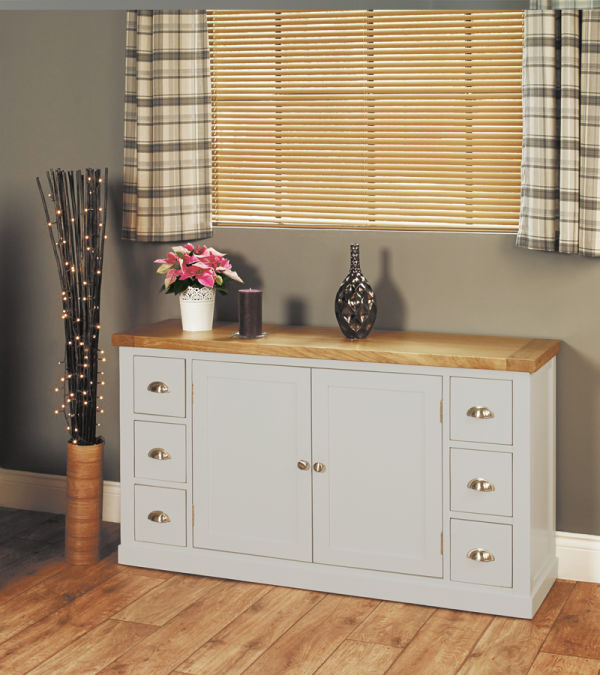 Chadwick Small Sideboard With Six Drawers