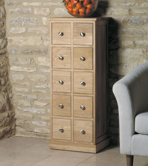 Mobel Light Oak Chest of Drawers