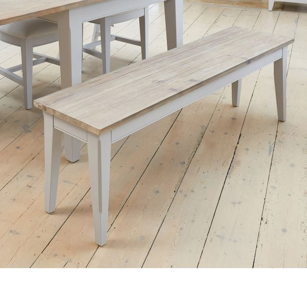 Signature Grey Dining Bench (150cm)