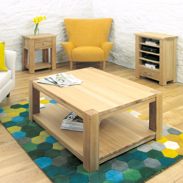Aston Oak Coffee Table Large