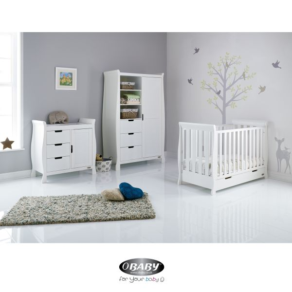 Stamford Mini Cot Bed Three Piece Room Set