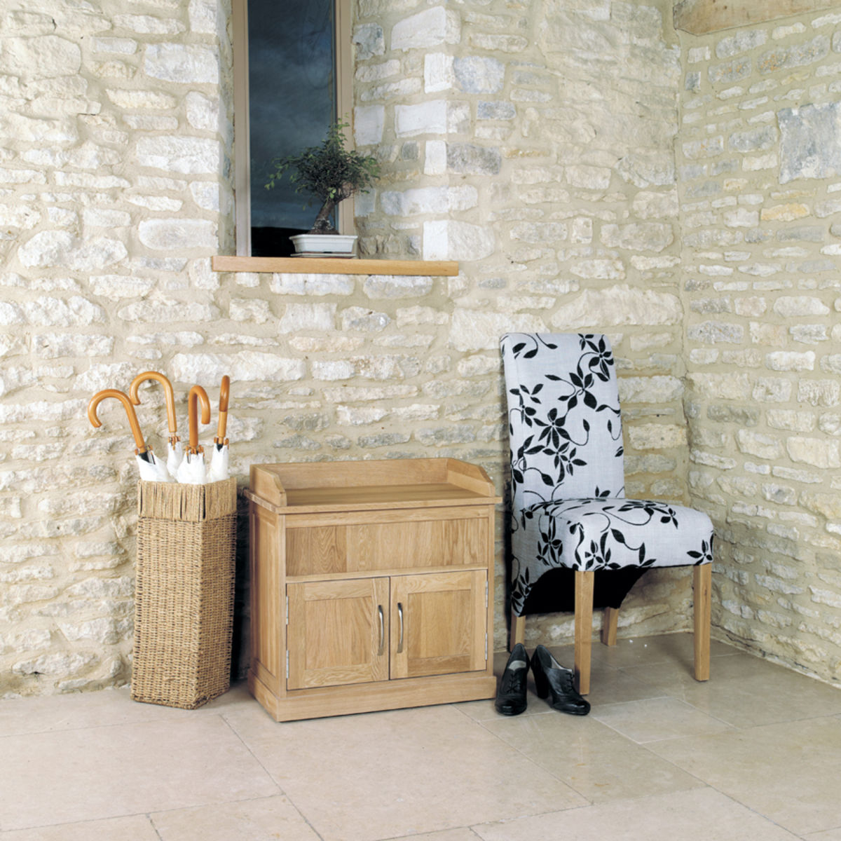 Mobel Solid Oak Furniture Shoe Storage Hallway Bench: Mobel Oak Shoe Bench With Hidden Storage Was £350.00 Now £