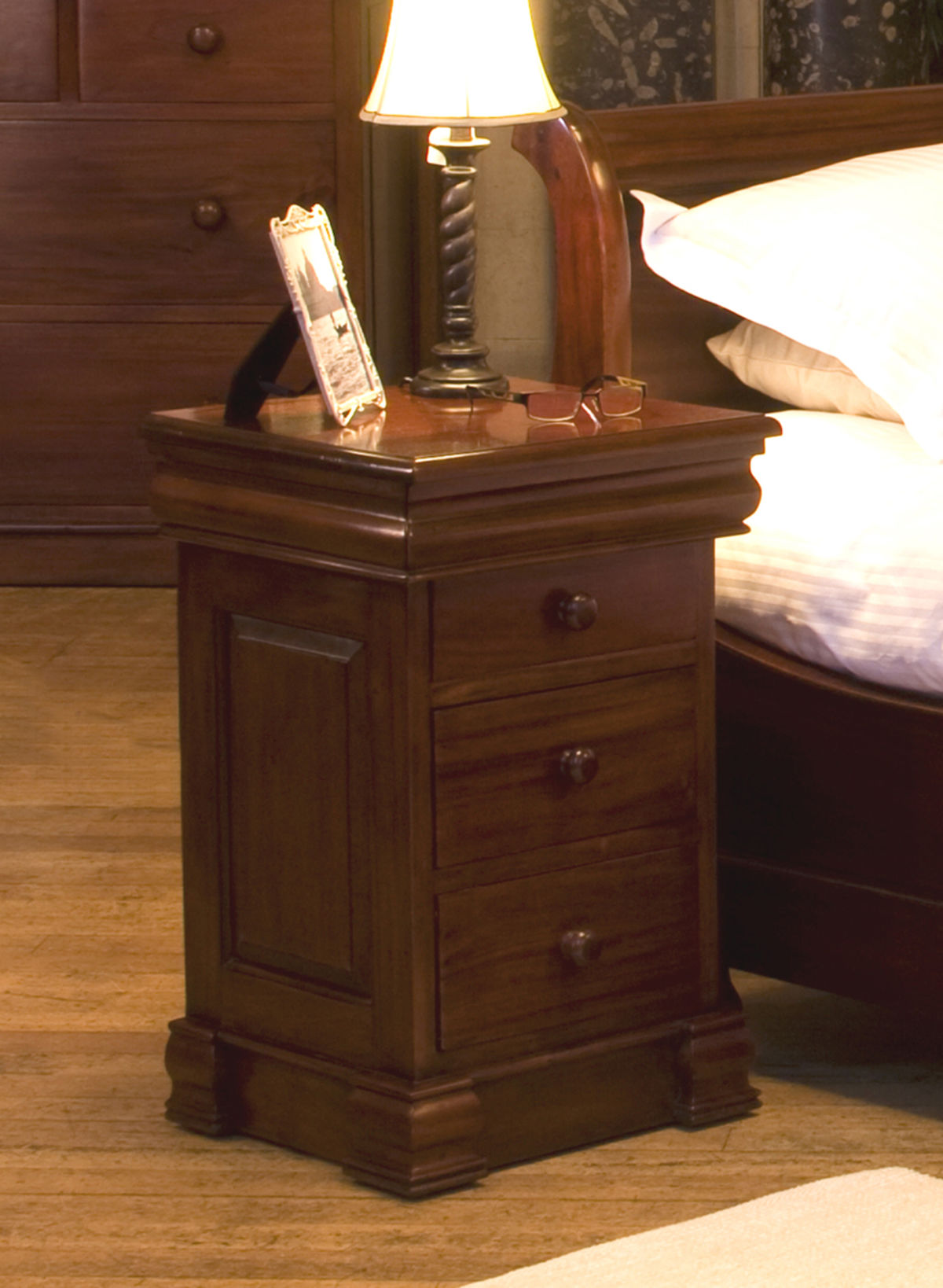 La Roque Four Drawer Mahogany Lamp Table Was 163 360 00 Now 163