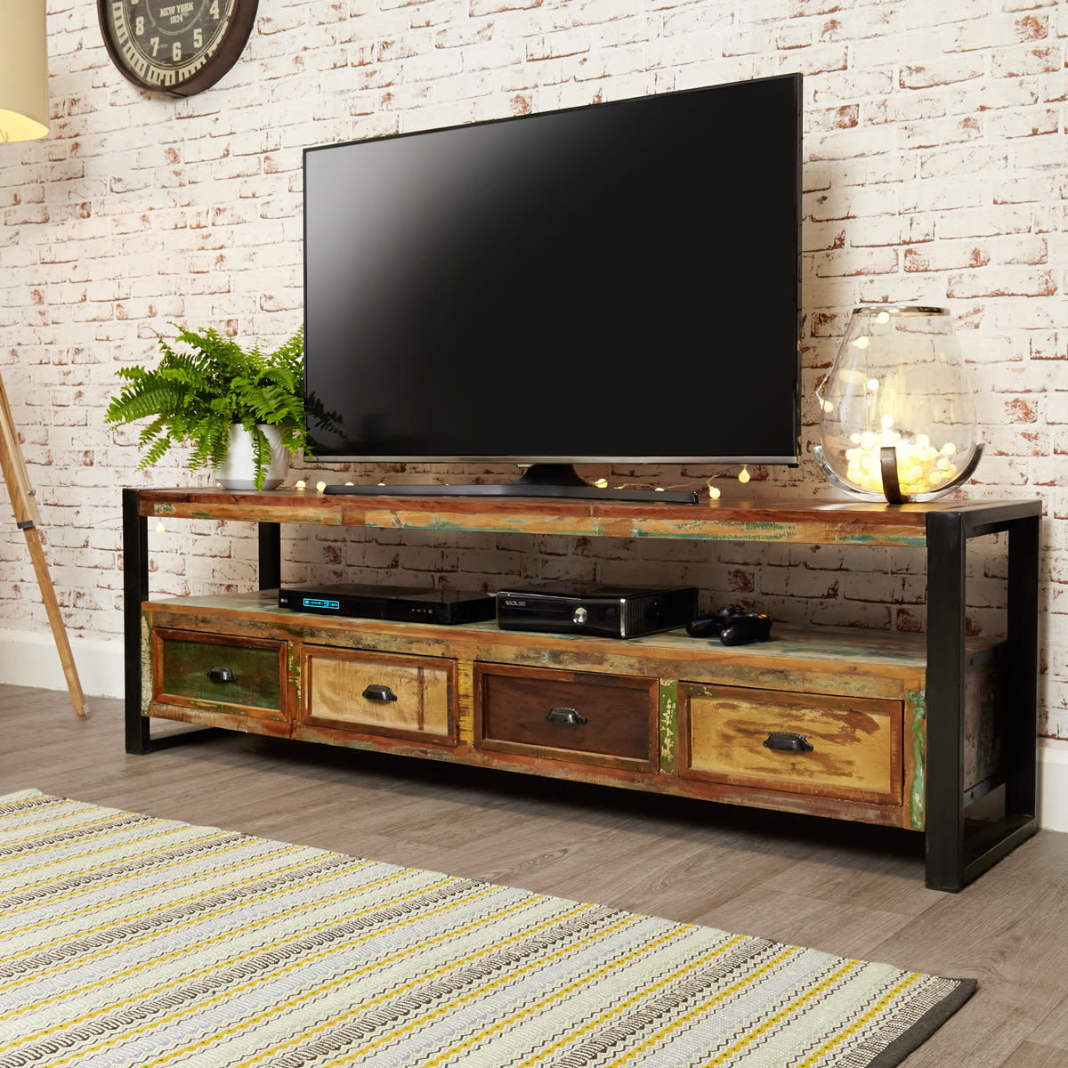 Urban Chic Open Widescreen Television Cabinet Was 163 480 00 Now 163 439 00 Wooden Furniture Store