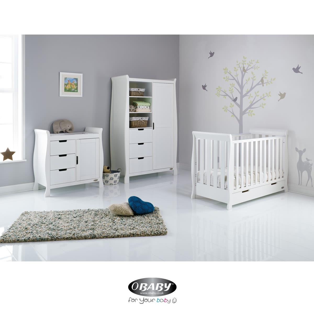 Furniture Store In Stamford Ct: Stamford Mini Cot Bed Three Piece Room Set Was £1,099.99