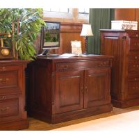 La Roque Mahogany Hidden Home Office Wooden Furniture Store