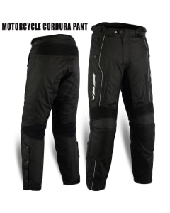 Motorbike Waterproof Cordura Armoured Trousers