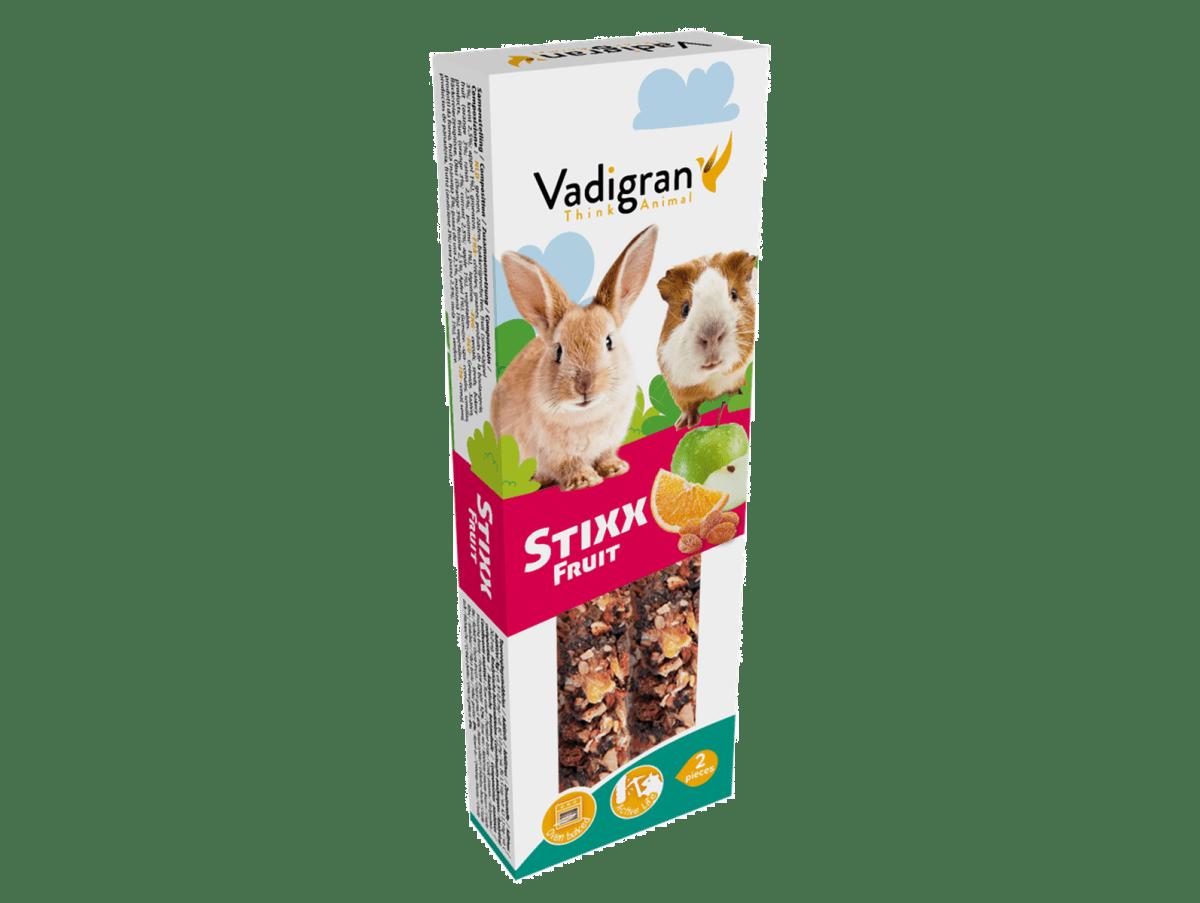 Snack StixX rabbit & guinea pig Fruits