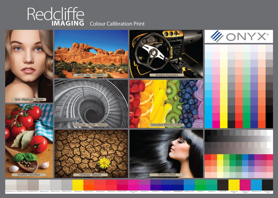 Colour Calibration Print