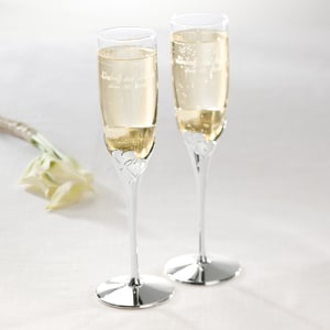 Lenox True Love Wedding Toasting Flutes