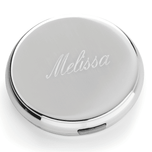 Round Personalized Compact