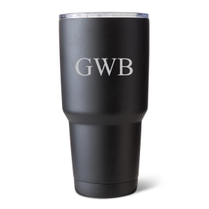 Personalized Matte Black Stainless Steel Insulated Tumbler, 30 oz.