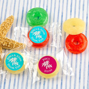 Personalized Fruit Life Saver Candies